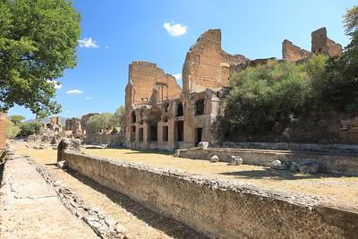 Villa Adriana — A Hadrianus-villa
