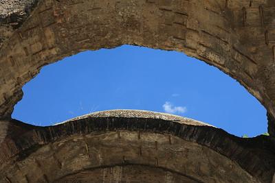 Therme di Villa Adriana — A Hadrianus-villa fürdője
