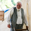 Andrew Shores of Ramseur, NC portray's the General Robert E. Lee character.