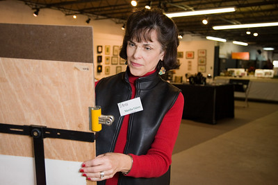 Martha Faires, secretary and instructor at Mint Hill Art.