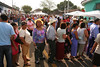 8am at the second busiest voting center in El Salvador, 131 voting tables stretch over a kilometre down the streets of Usulután, El Salvador. Salvadorans went to the polls last Sunday in record numbers: 60% of the 4.3 million registered voters showed up to vote. Such turnout is significant given the lack of confidence in the electoral system in El Salvador, a country which has suffered a turbulent history of high level political corruption, military rule, fraudulent elections, and a bloody, decade-long civil war. As a result, only half of Salvadorans said they had confidence in the electoral process and only 42.6% believed the elections would be clean, according to pre election polling by the University Institute of Public Opinion (IUDOP) at the University of Central America.