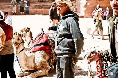 Camel wranglers..