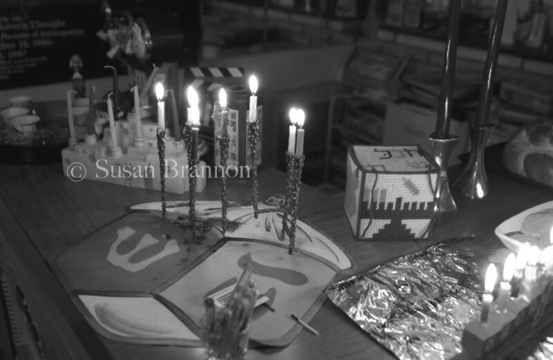 Hannakah table mosiac