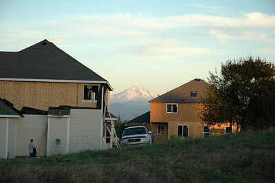 New Homes Coming Soon! Mt. Hood seems to be in the way of progress! Camas, WA