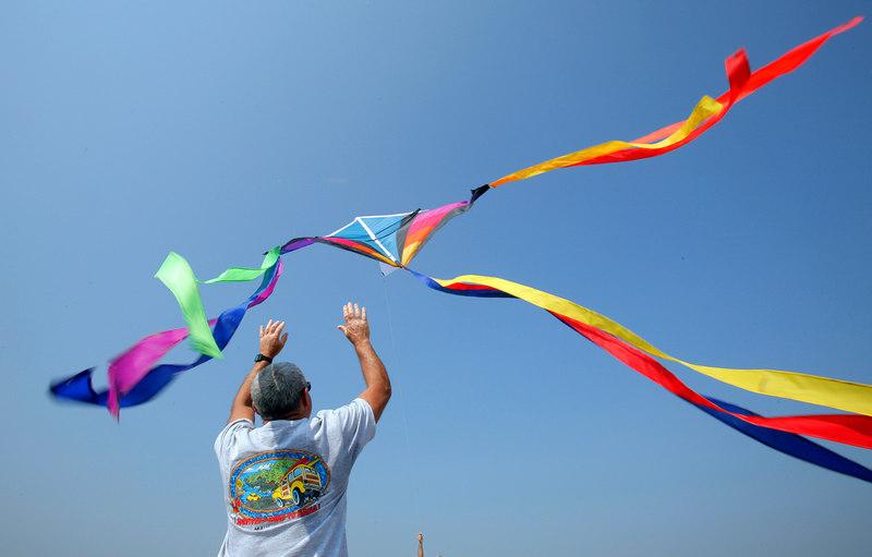 Kite festival, Ogunquit.