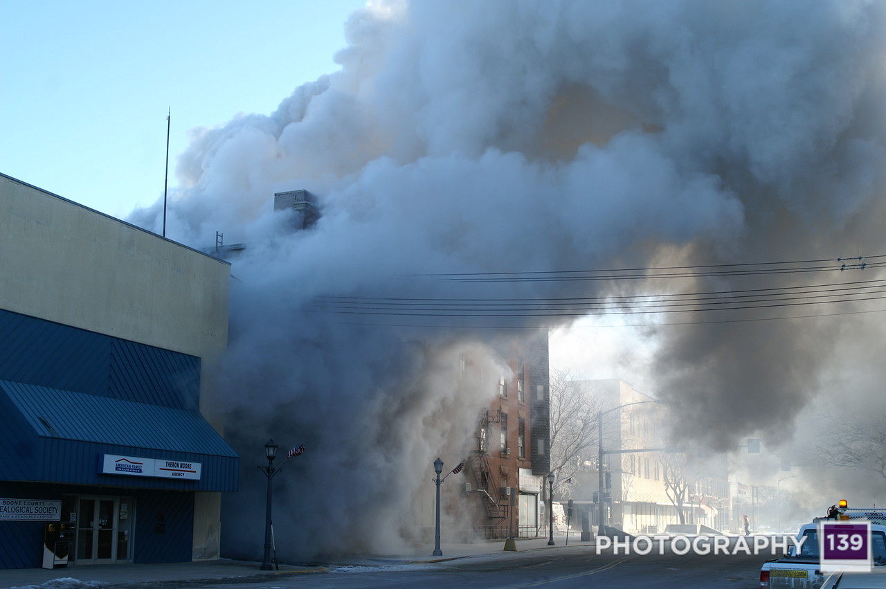 8TH & Story Fire - 2009