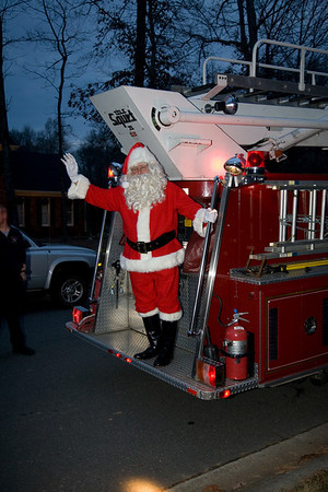 Santa Firetruck