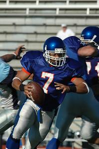 Daimino Stewart, Quarterback Scrambling out of the pocket
