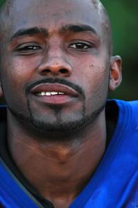 Davie Beeks, Portrait of African-American Football player