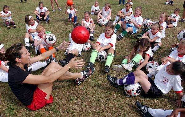 Julie Foudy Soccer Clinic