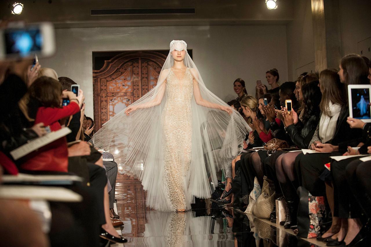 Bridal Fashion Show - Reem Acra