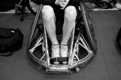 Rugby Wheelchairs are made to withstand hard hits and lot of abuse.