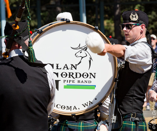Drummer at NW Highland Games