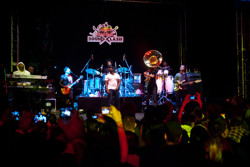 The Roots playing the Red Bull Soundclash in Scottsdale, AZ
