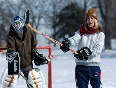 Hockey girl
