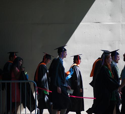 Photo from Portland State University Commencement ceremony Sunday June 14, 2015 at the Moda Center. © 2015  Fred Joe Photo | www.fredjoephoto.com
