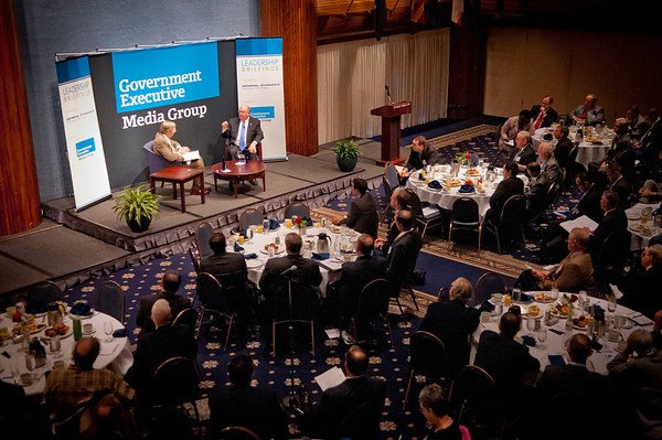 """""""Fireside Chat"""" leads to better understanding between federal and industry leaders"""