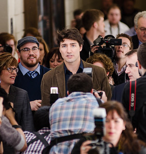 Justin Trudeau visits Loyalist College