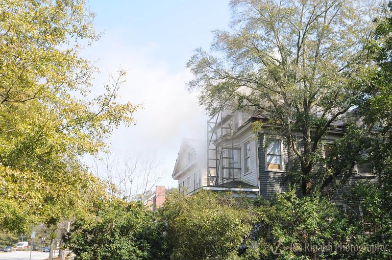 Market Street Fire, Wilmington, North Carolina 3/7/09