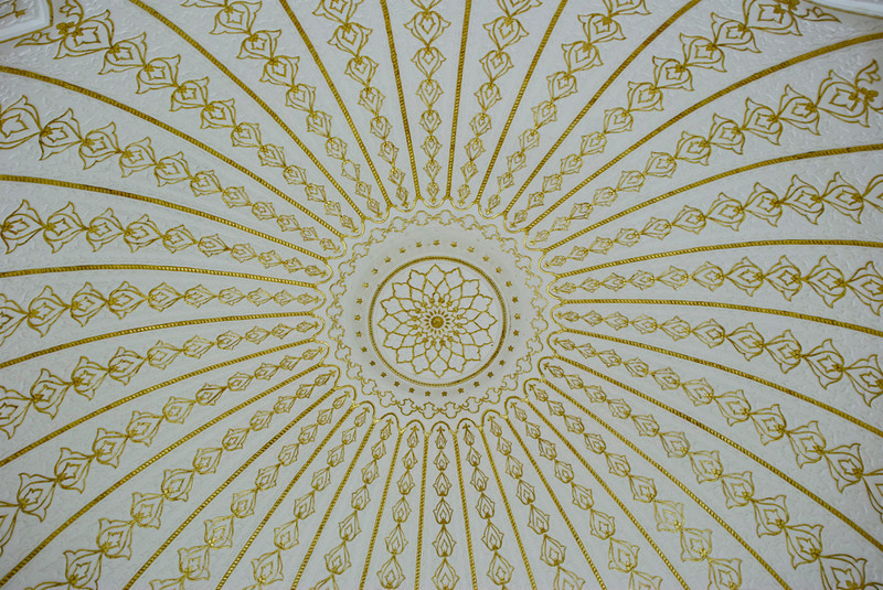 Ceiling.<br /> <br /> Islamic Arts Museum<br /> Kuala Lumpur, Malaysia