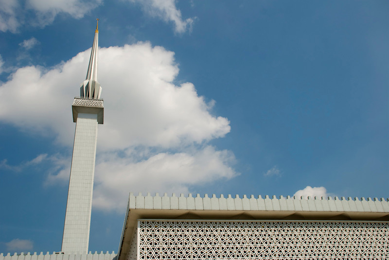 The National Mosque.<br /> <br /> Kuala Lumpur, Malaysia