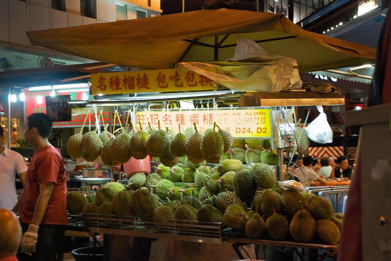 Durian, the king of fruit!<br /> <br /> Kuala Lumpur, Malaysia