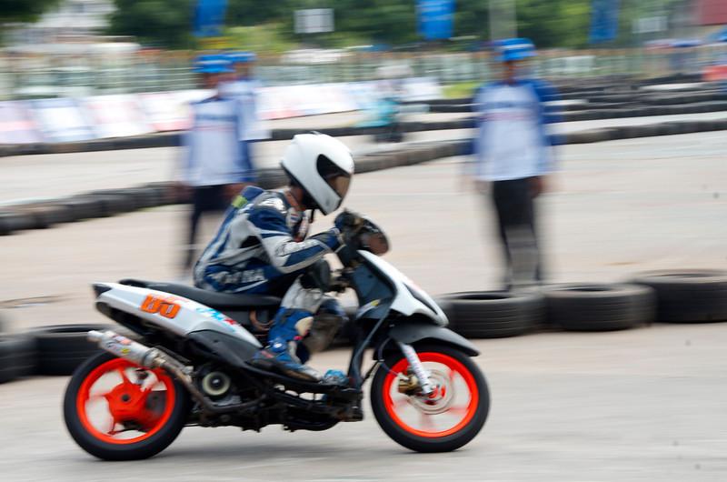 Weekend moto race.<br /> <br /> Khon Kaen, Thailand