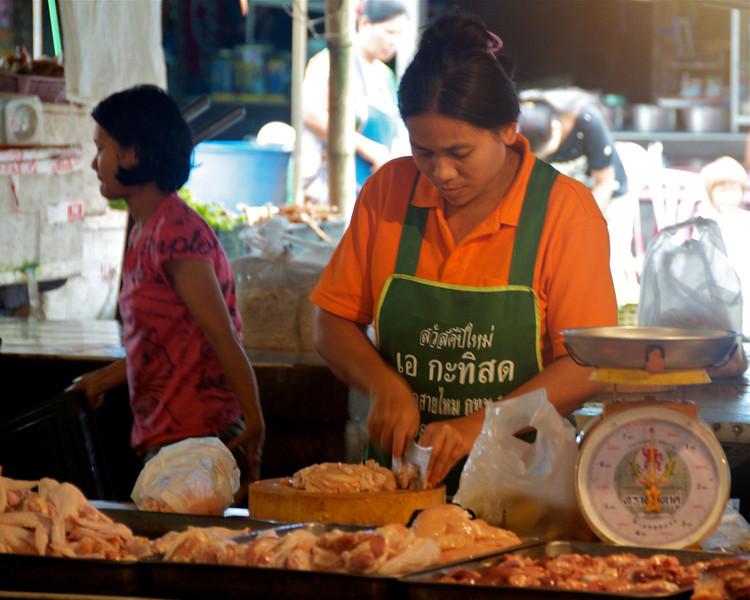 The market. <br /> <br /> Sangklaburi, Thailand