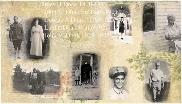 Family of Addington and Eva Doak