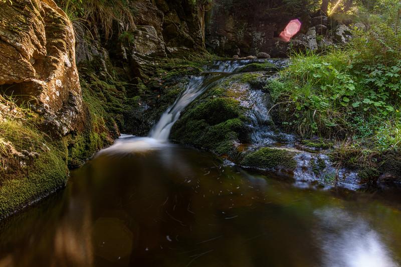 St. Sebastian waterfall
