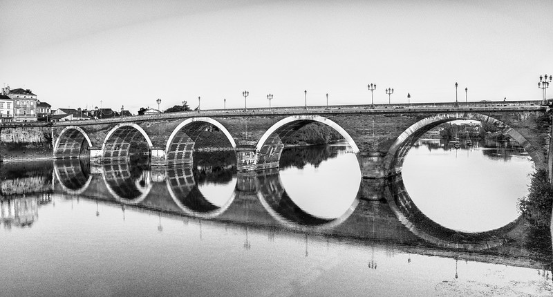 The old Bridge at Bergerac