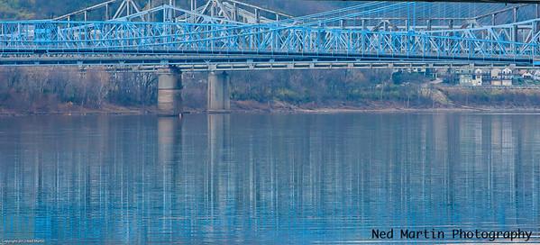 Bridges over the Ohio River at Cincinnati