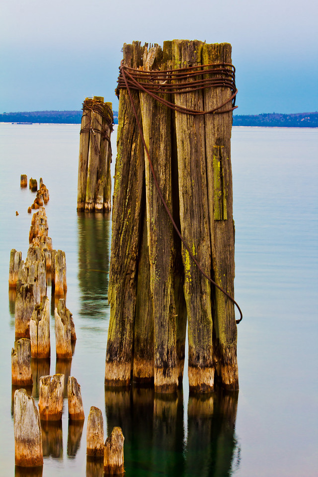 St Ignace MI 11.8.11<br /> <br /> This is a Jetti near the Lighthouse in downtown St Ignace. I have shot several photos of the lighthouse but never from the area that I shot this photo. I was actually there working on a new video project, just like last weeks Photo of the Week. Then as I was walking away I saw this Jetti and captured this photo.