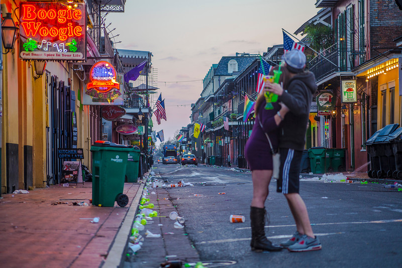 The Morning after - New Orleans LA