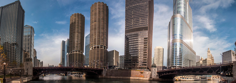 Chicago 11.18.12<br /> <br /> If you have been following my photography at all you probably know I have been shooting a lot of Panoramic photos the last few months. It has really opened up a new avenue for me to be creative and I have really been enjoying it. This is one of those photos.