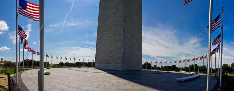 Washington D.C. - Washington Monument <br /> Panoramic only 16x40 or 24x60 without cropping