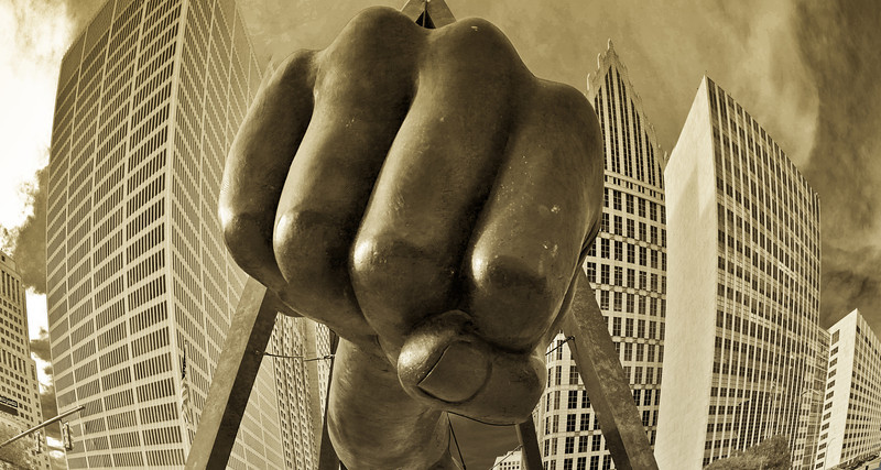 Joe Louis Fist, Detroit 9.27.12