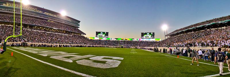 Spartan Stadium MSU vs Notre Dame 9.15.12
