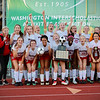 """Saint George's girls soccer team finished their season in style on Nov. 17 with a 2-0 victory over Kalama for their second State 2B Title in the past three years!  See photos from the celebration afterwards with the big state trophy at<br /> <a href=""""https://saintgeorges.smugmug.com/Athletics/US-Girls-Soccer-State-Champions-11-17-18/"""">https://saintgeorges.smugmug.com/Athletics/US-Girls-Soccer-State-Champions-11-17-18/</a>"""
