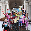 """The entire Lower School dressed in their PJs and carried their favorite books to the Davenport House on Friday, Jan. 4 to enjoy 2019 seconds of reading.  Here are the 3rd graders outside with their books.  See a gallery of the students at <br /> <a href=""""https://saintgeorges.smugmug.com/Academics/LS-2019-Seconds-of-Reading-1-4-19/"""">https://saintgeorges.smugmug.com/Academics/LS-2019-Seconds-of-Reading-1-4-19/</a>"""