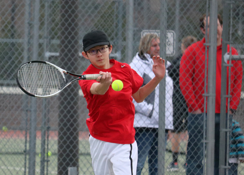 "Saint George's tennis team had their eye on the ball during matches at nearby Mead HS on March 21.  View more photos from these tennis matches at <a href=""https://saintgeorges.smugmug.com/Athletics/US-Tennis-at-Mead-3-21-18/"">https://saintgeorges.smugmug.com/Athletics/US-Tennis-at-Mead-3-21-18/</a>"