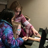 "Students help each other during the Lower School Coding Club, which meets Thursdays after school to learn simple programming language needed to create their own video games.  See more photos from the class at <br /> <a href=""https://saintgeorges.smugmug.com/Academics/LS-Coding-Club-3-8-18"">https://saintgeorges.smugmug.com/Academics/LS-Coding-Club-3-8-18</a>"