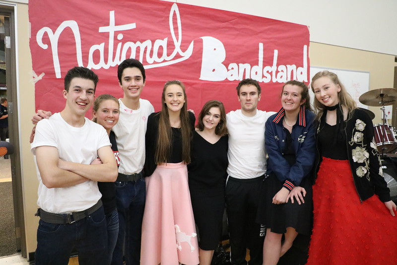 """The Battle of the Holy Grail brought out the Greasers for an exciting evening of basketball games and spirit competitions with rival Northwest Christian on Feb. 2.  While SGS lost the Holy Grail, we did help raise nearly $2500 for the Ronald McDonald House.  See more photos of the evening at <a href=""""https://saintgeorges.smugmug.com/Community/Holy-Grail-2-2-18/"""">https://saintgeorges.smugmug.com/Community/Holy-Grail-2-2-18/</a>"""