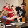"The 8th graders worked in Science class to get the right mix of gravel, cement, and water to make permeable concrete for a ""storm garden"" to be created on campus.  See more images of their messy lab work at <br /> <a href=""https://saintgeorges.smugmug.com/Academics/MS-8th-Science-Making-Permeable-Concrete-12-4-17/"">https://saintgeorges.smugmug.com/Academics/MS-8th-Science-Making-Permeable-Concrete-12-4-17/</a>"