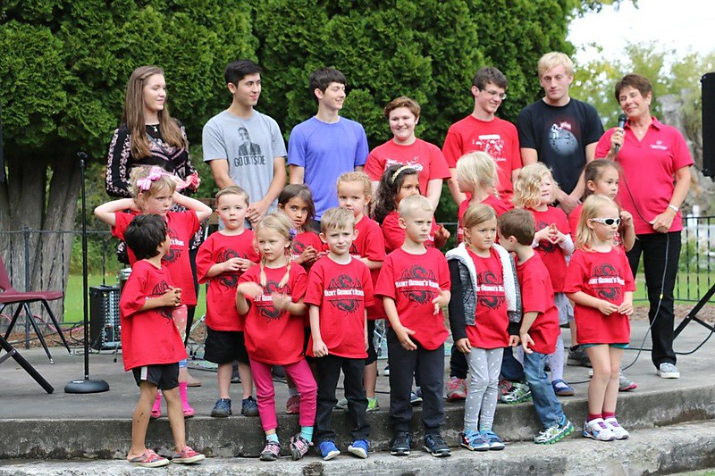 The Class of 2029 arrived at Saint George's last week, and the Kindergarten kids took front stage with the seniors who started at SGS 12 years ago.
