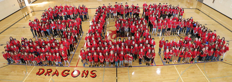 "The entire SGS student body and faculty gathered on the ESAC Gym floor after the Spirit Week Pep Rally to spell out the best school in Spokane!  See more photos of the BIG SGS at <a href=""https://saintgeorges.smugmug.com/Community/The-BIG-SGS-10-5-18/"">https://saintgeorges.smugmug.com/Community/The-BIG-SGS-10-5-18/</a>"