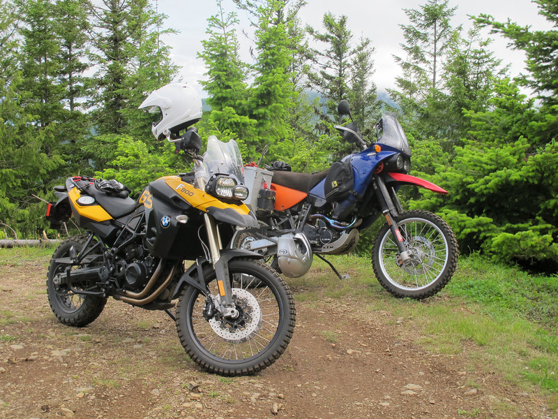 Saturday, July 16, 2011. Diego and I went for a short motorcycle ride in the mountains. It was brief, but very enjoyable.