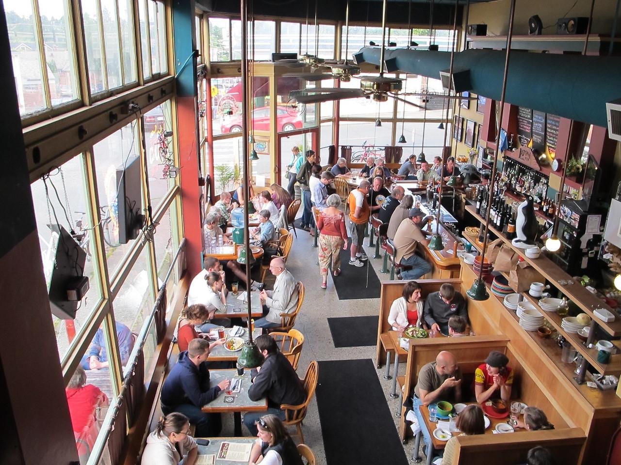 Thursday, June 23, 2011. The Letona Pub, one of the regular stops for our Thursday evening beer group.
