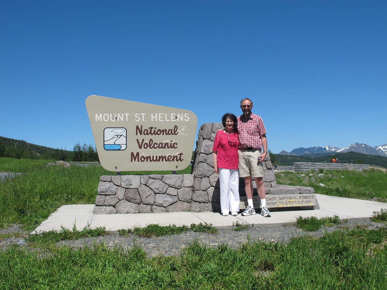 Wednesday, July 6, 2011. Mom and I spand the day visiting Mt St. Helens the day before her birthday.