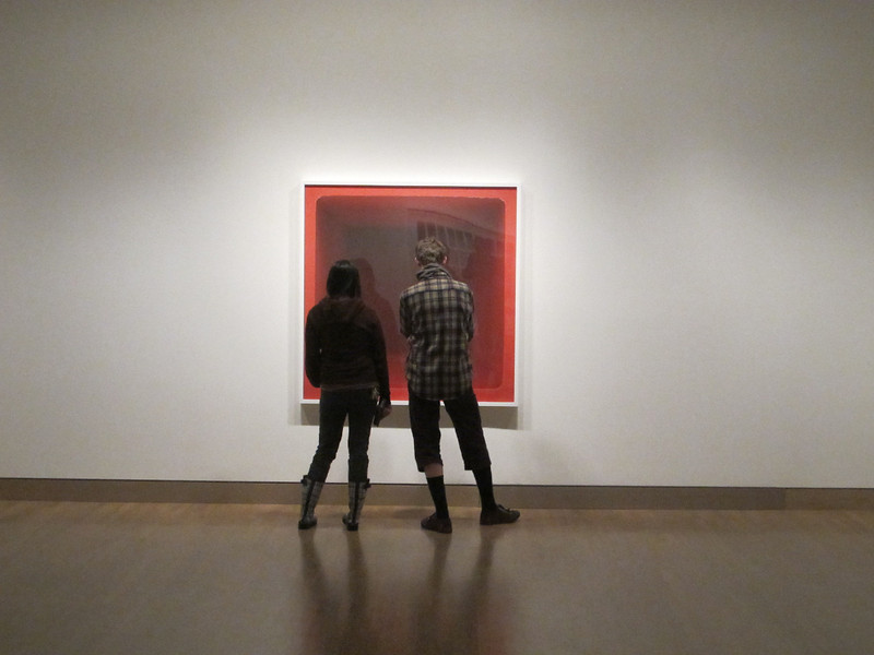 January 22, 2012. An afternoon at the Frye Art Gallery.